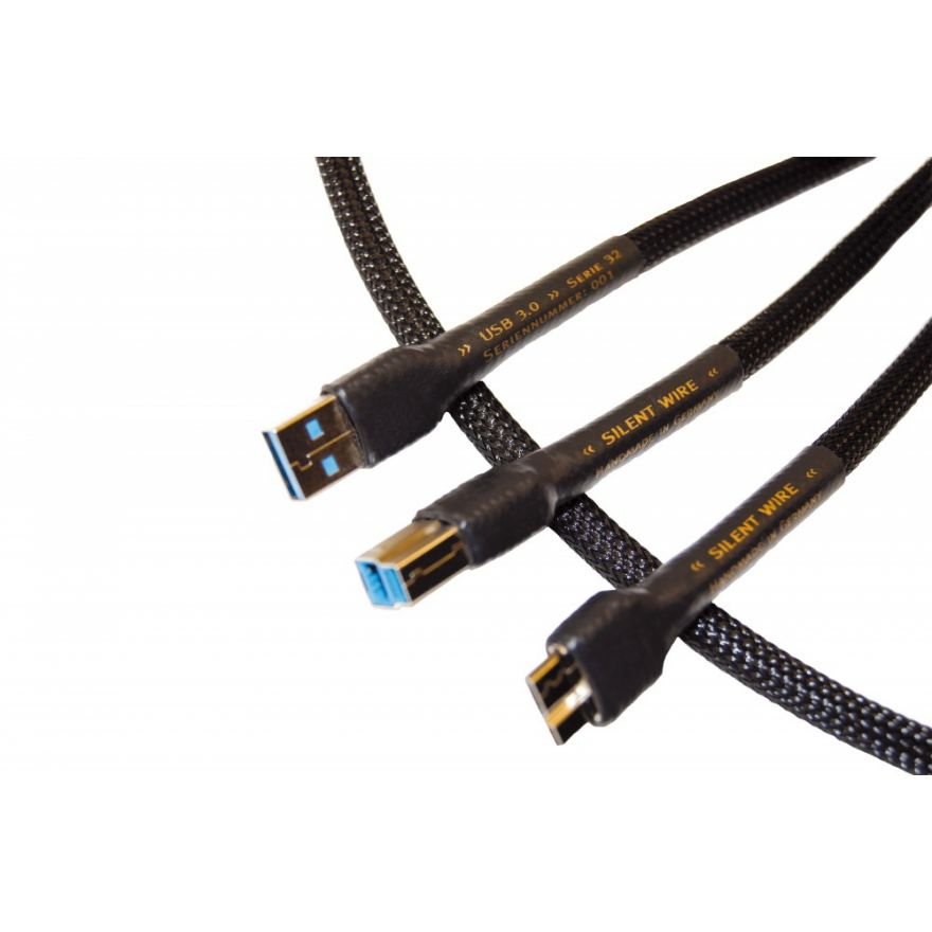 Silent Wire Serie 32 USB 3.0 Kabel, Highend-Audiokabel.de | HiFi ...