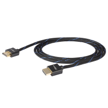 Black Connect HDMI Slim Kabel