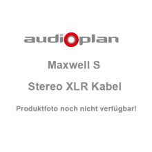 AUDIOPLAN Maxwell S Stereo XLR Kabel