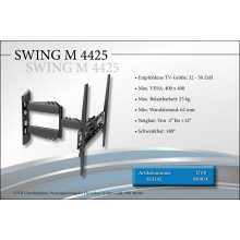Black Connect Swing M 4425 TV Halterung
