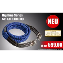 GOLDKABEL Highline Speaker Limited BiWire Lautsprecherkabel