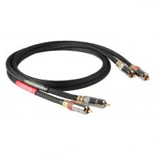 GOLDKABEL Cinch Stereo Black Edition
