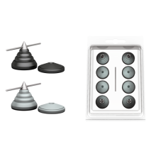 Audio Selection Kegel Disc klein 4er Set
