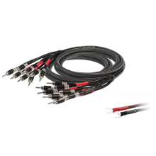GOLDKABEL Executive LS 440 Bi-Amping Rhodium