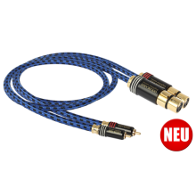 GOLDKABEL Highline MK3 Cinch auf XLR Stereo