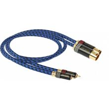 GOLDKABEL Highline MK3 Cinch auf XLR Stecker Stereo
