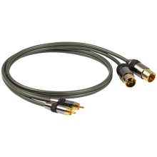 GOLDKABEL Profi Cinch auf XLR Stecker Kabel