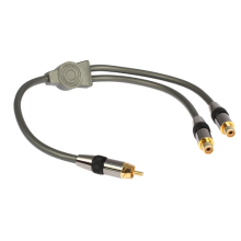 GOLDKABEL Profi Y Cinch Adapter 1S2K