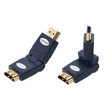 in-akustik Premium HDMI Winkel Adapter 360°