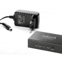 in-akustik Premium HDMI Splitter 1 > 2 High Speed - HDMI 2.0